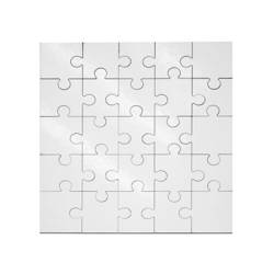 MDF jingsaw puzzle 17 x 17 cm 25 elements Sublimation Thermal Transfer