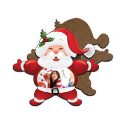 MDF photo frame with magnet - Santa Claus - Sublimation Thermal Transfer