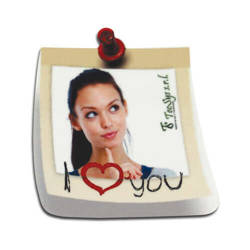 MDF photo frame with magnet - chit - Sublimation Thermal Transfer
