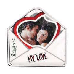MDF photo frame with magnet - envelope - Sublimation Thermal Transfer