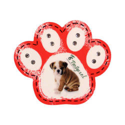 MDF photo frame with magnet - paw - Sublimation Thermal Transfer