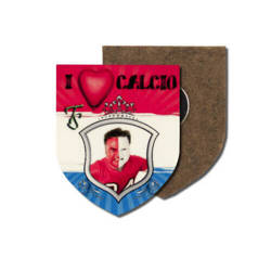 MDF photo frame with magnet - shield - Sublimation Thermal Transfer