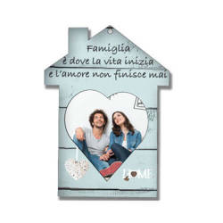 MDF standing frame for sublimation – house