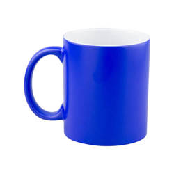 Magic, blue, matte mug for sublimation printing