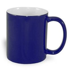 Magic economic mug 330 ml navy blue Sublimation Thermal Transfer