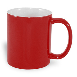 Magic economic mug 330 ml red Sublimation Thermal Transfer