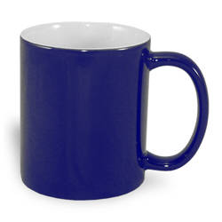 Magic mug A+ 330 ml navy blue Sublimation Thermal Transfer