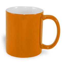 Magic mug A+ 330 ml orange Sublimation Thermal Transfer
