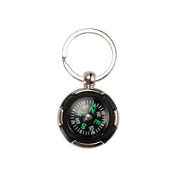 Metal keychain - compass Sublimation