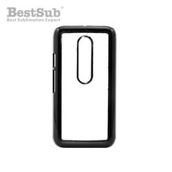 Motorola Moto G3 case plastic black Sublimation Thermal Transfer