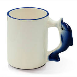 Mug 330 ml dolphin Sublimation Thermal Transfer
