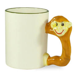 Mug 330 ml monkey Sublimation Thermal Transfer