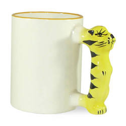 Mug 330 ml tiger Sublimation Thermal Transfer