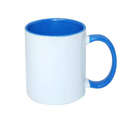 Mug A+ 330 ml FUNNY sea-blue Sublimation Thermal Transfer