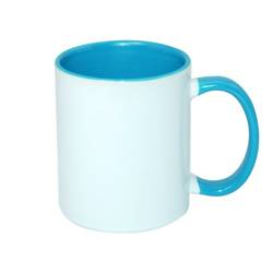 Mug ECO 330 ml FUNNY light blue Sublimation Thermal Transfer