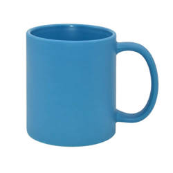 Mug Full Color - blue mat Sublimation Thermal Transfer