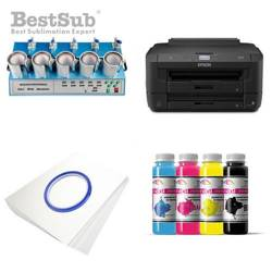 Mug printing kit Epson WF-7110DTW + MAX5 Sublimation Thermal Transfer