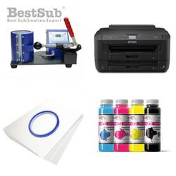 Mug printing kit Epson WF-7110DTW + SB01B2 Sublimation Thermal Transfer