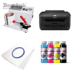 Mug printing kit Epson WF-7110DTW + SB02 Sublimation Thermal Transfer