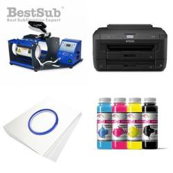 Mug printing kit Epson WF-7110DTW + SB03 Sublimation Thermal Transfer