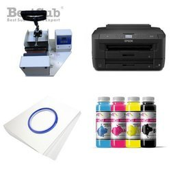 Mug printing kit Epson WF-7110DTW + SB07 Sublimation Thermal Transfer