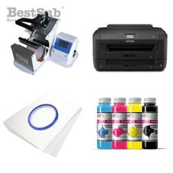 Mug printing kit Epson WF-7110DTW + SB08 Sublimation Thermal Transfer
