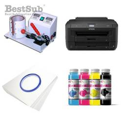 Mug printing kit Epson WF-7110DTW + SB58 Sublimation Thermal Transfer