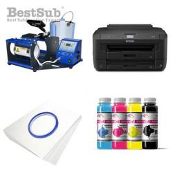 Mug printing kit Epson WF-7210DTW + JTSB04 Sublimation Thermal Transfer