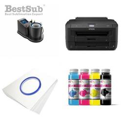 Mug printing kit Epson WF-7210DTW + JTSB11­-Q-­2 Sublimation Thermal Transfer