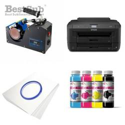 Mug printing kit Epson WF-7210DTW + PLUS-KBJ2 Sublimation Thermal Transfer