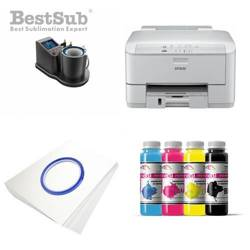Mug printing kit Epson WP-4095DN + JTSB11­-Q-­2 Sublimation Thermal Transfer