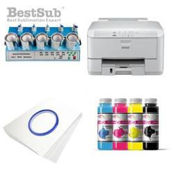 Mug printing kit Epson WP-4095DN + MAX5 Sublimation Thermal Transfer