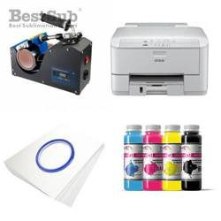 Mug printing kit Epson WP-4095DN + PLUS-KBJ2 Sublimation Thermal Transfer