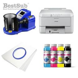 Mug printing kit Epson WP-4095DN + PLUS-KBJQ2 Sublimation Thermal Transfer