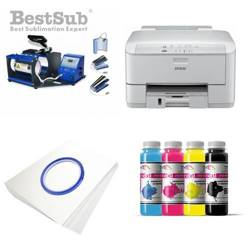 Mug printing kit Epson WP-4095DN + SB05V Sublimation Thermal Transfer