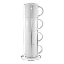 Mugs A+ 250 ml Stacker 4 pcs Sublimation Thermal Transfer