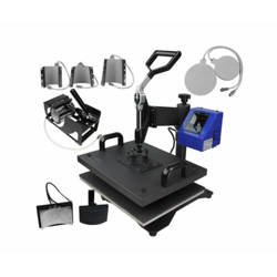 Multifunctional heat press 8 in 1 - model MATE-8IN1-3 Thermal Transfer Sublimation