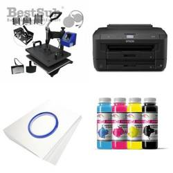 Multifunctional printing kit Epson WF7110DTW + MATE-8IN1-2 Sublimation Thermal Transfer