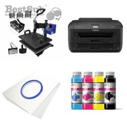 Multifunctional printing kit Epson WF7110DTW + MATE-8IN1-3 Sublimation Thermal Transfer