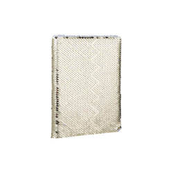 Notebook A5 with cover with sequins for sublimation - gold