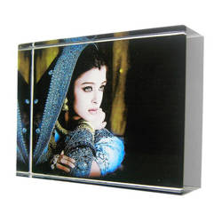 Photo Crystal Small Rectangle Model SJ21