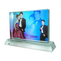 Photo crystal big rectangle model SJ27