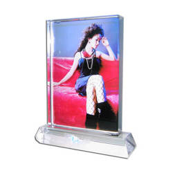 Photo crystal big tall rectangle model SJ28