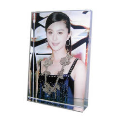 Photo crystal big tall trapezium model SJ25