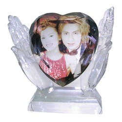 Photo crystal heart model SJ16