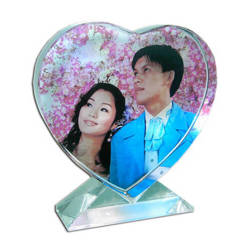 Photo crystal heart model SJ44