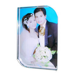 Photo crystal rounded rectangle model SJ50