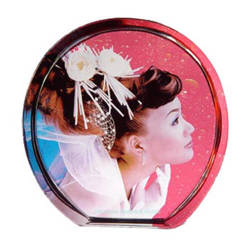 Photo crystal standing circle model SJ32