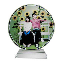 Photo crystal sunflower 10cm model SJ02