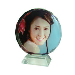Photo crystal sunflower 8 cm model SJ01